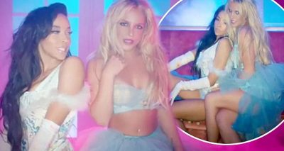 NOT A GIRL…Watch Britney Spears Kiss Tinashe in Her SLUMBER PARTY Video