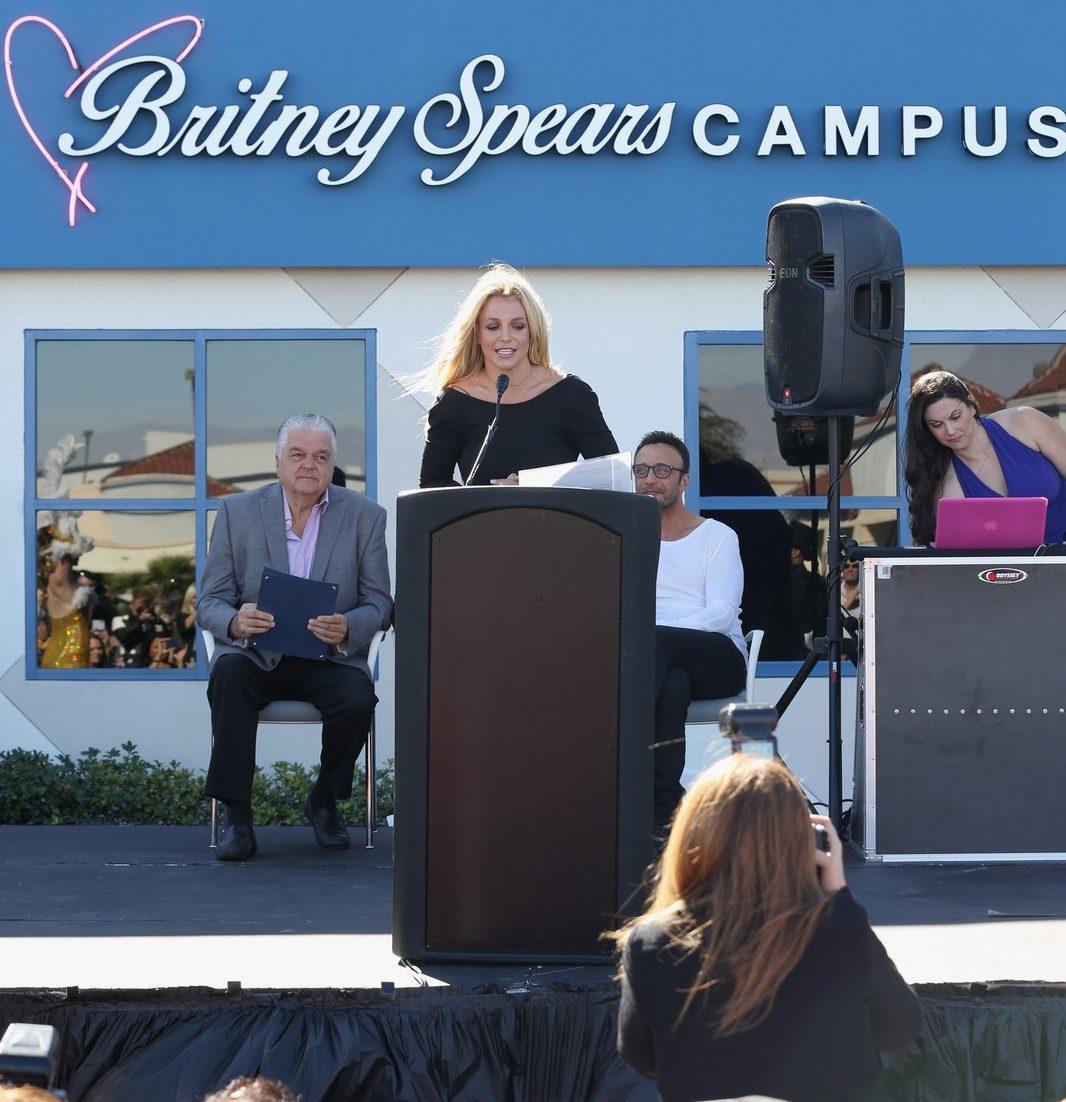 BRITNEY SPEARS Opens Children's Cancer Foundation in Las Vegas