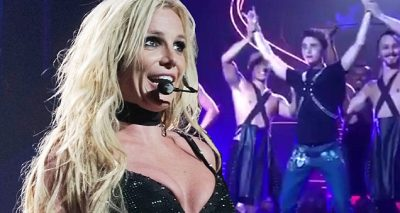 BRITNEY SPEARS Scolds a Drunk Fan ON STAGE!