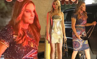 Caitlyn Jenner Attends Daughter Kylie's 21st Birthday Party!