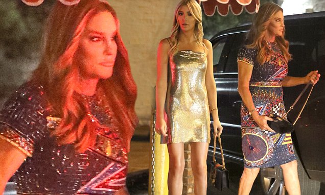 Caitlyn Jenner Attends Daughter Kylie's 21st Birthday Party! image