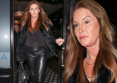 Caitlyn Jenner is a Leather-Pant Goddess in West Hollywood!