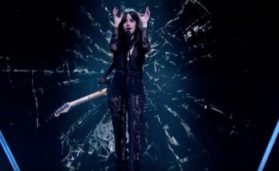 Camila Cabello Performs 'Never Be the Same' on 'Dancing On ICE'