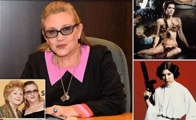 'STAR WARS' Actress Carrie Fisher DIES Aboard an Aircraft!