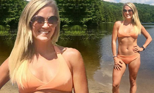 Carrie Underwood is a Nudist Lady by the LAKE! image