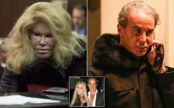 "Watch ""CATWOMAN"" Jocelyn Wildenstein Claw Her Fashion Designer Boyfriend's FACE!"