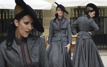 Celine Dion is an 18th Century Lady in DRAMATIC Paris Photoshoot!