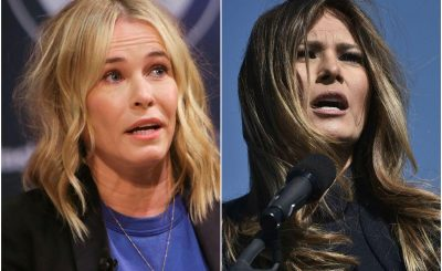 Chelsea Handler Tells Melania Trump to BLINK IF SHE NEEDS HELP!