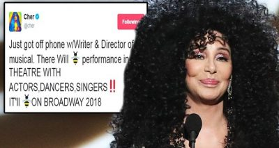 CHER's Life to Become a Broadway Musical!