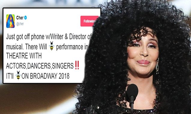 CHER's Life to Become a Broadway Musical! image