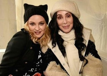 CHER and Madonna Come Together For Women's March