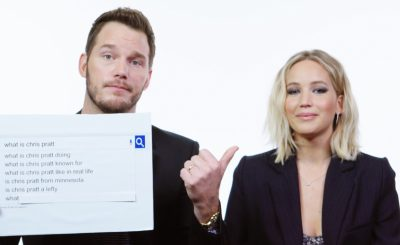 """IS CHRIS PRATT DEAD?"" Jennifer Lawrence and Chris Pratt Answer Burning Questions From The Internet!"