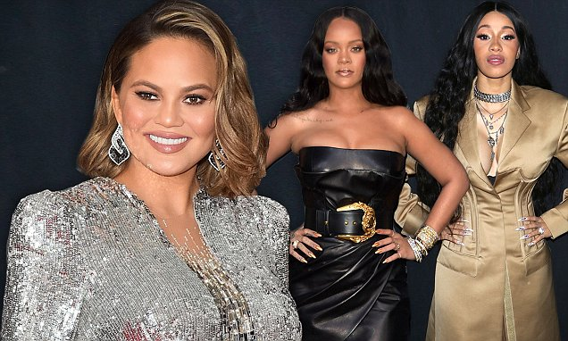 Chrissy Teigen Says She Wants a THREESOME With Cardi B image