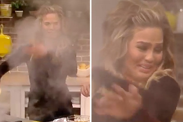Chrissy Teigen is GROSSED OUT By Her Mom's Sausages! image