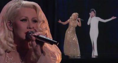 Christina Aguilera Tributes Whitney Houston!