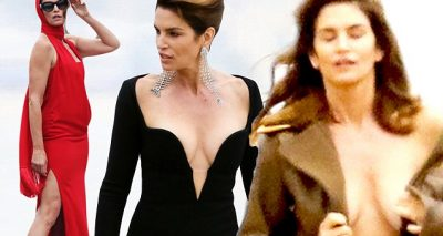 Cindy Crawford MALIBU BEACH Photoshoot!