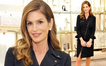 Cindy Crawford is Determined to DELETE BLOOD CANCER!