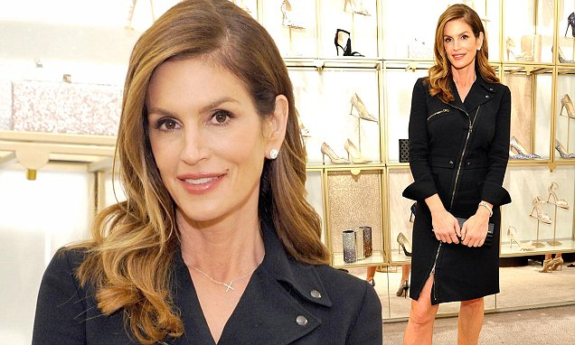 Cindy Crawford is Determined to DELETE BLOOD CANCER! image