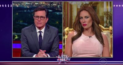Laura Benanti Plays Melania Trump on The Late Show w/ Stephen Colbert