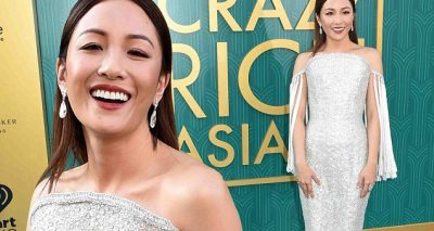 Constance Wu Wears $200,000 Jewels to Premiere of CRAZY RICH ASIANS!