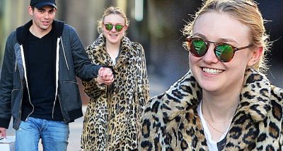 ALL SMILES: Dakota Fanning and Mystery Man Hold Hands in NYC!