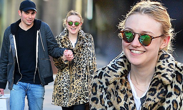 EXCLUSIVE: Dakota Fanning Steps Out With a Mystery Man in New York City