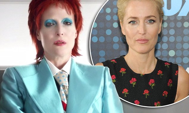 Gillian Anderson Plays David Bowie on 'American Gods' : Watch Here image