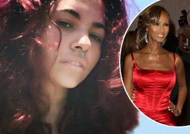 IMAN Shares Very First Photo of Her and David Bowie's Daughter!