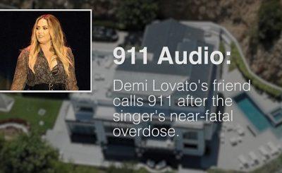 NO SIRENS PLEASE: Demi Lovato's 911 Call Surfaces