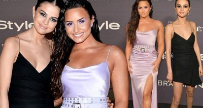 Selena Gomez & DEMI LOVATO Are Best Friends @ Instyle Awards