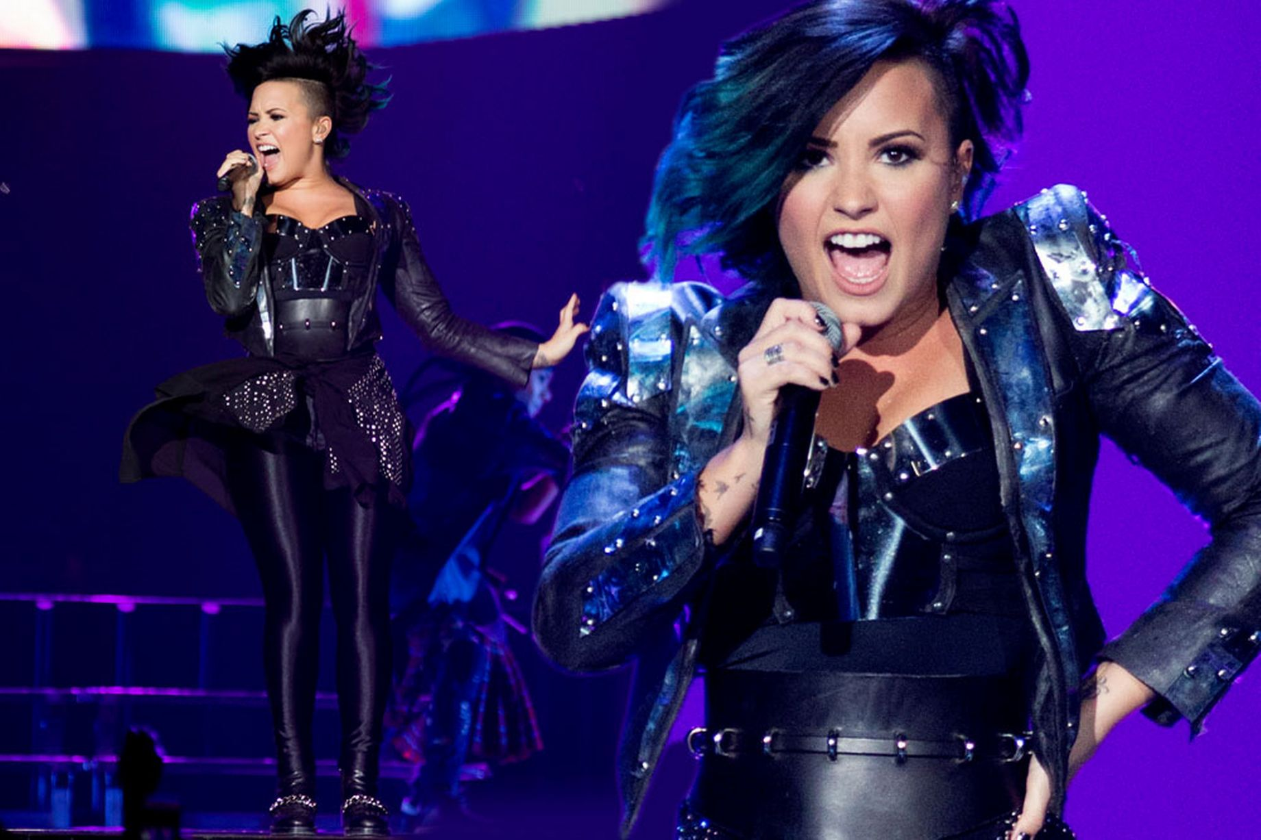 """Demi Lovato Has Had SO MANY """"Ups and Downs"""" Five Years Being Sober! image"""