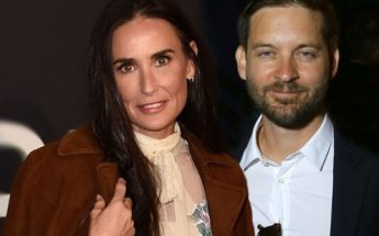 Demi Moore BACK TOGETHER With Decade-Younger Tobey Maguire
