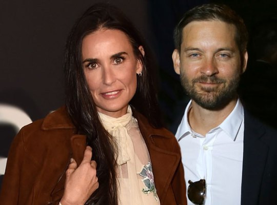 Demi Moore BACK TOGETHER With Decade-Younger Tobey Maguire image