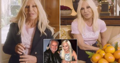 Donatella Versace Says What People Think About Her Isn't TRUE!