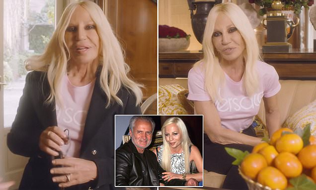 Donatella Versace Says What People Think About Her Isn't TRUE! image