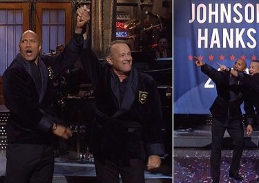 Dwayne Johnson is RUNNING FOR PRESIDENT With Tom Hanks!