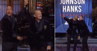 Dwayne Johnson is RUNNING FOR PRESIDENT With Tom Hanks!