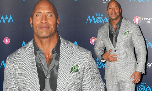 'The Rock' Dwayne Johnson Declared World's SEXIEST MAN ALIVE image