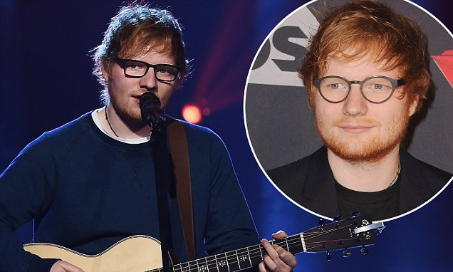 Ed Sheeran Hangs Out @ The Beach NUDE With Friends!