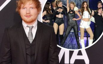 Ed Sheeran Makes Overnight STOPOVER At Taylor Swift's Apartment