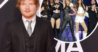 Ed Sheeran Makes Overnight STOPOVER At Taylor Swift's Apartment