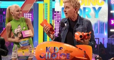 ELLEN DEGENERES Recites Strange Oath at Kids Choice Awards