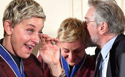 Barack Obama Gives Ellen DeGeneres Her FREEDOM Medal at The White House