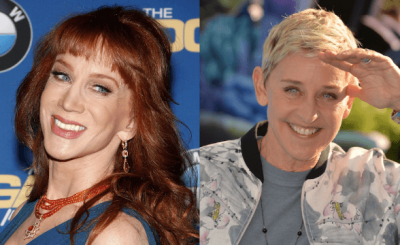 FRENEMIES: Kathy Griffin Talks About Her FEUD With Ellen DeGeneres!
