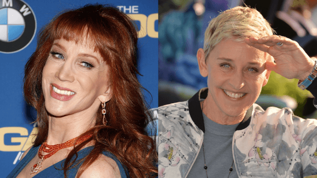 FRENEMIES: Kathy Griffin Talks About Her FEUD With Ellen DeGeneres! image