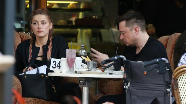 Elon Musk and Amber Heard SPLIT! image