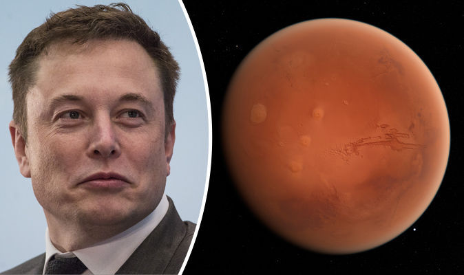Elon Musk to Fly Two People to the Moon in 2018 image