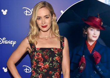 Emily Blunt is Mary Poppins in 'Mary Poppins Returns'