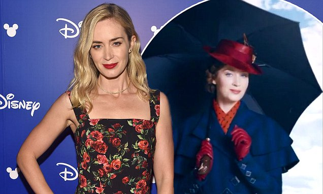 Emily Blunt is Mary Poppins in 'Mary Poppins Returns' image