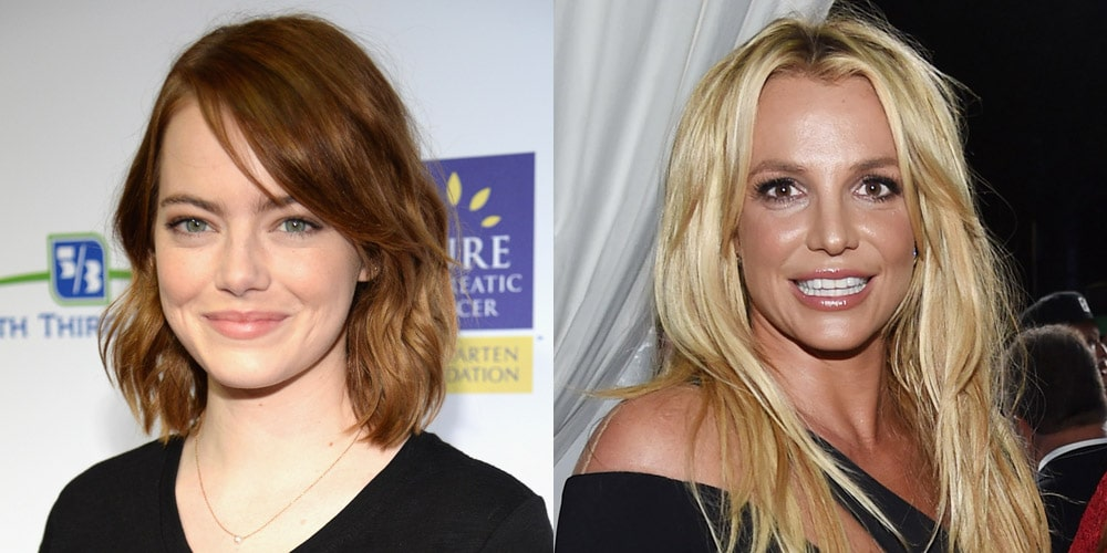 Emma Stone Does an AMAZING Britney Spears Impression image